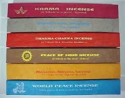 Karma, World Peace etc. Incense