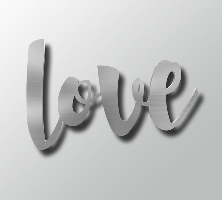 Large Metal Love Wall Art Simple 108 Best Metal Wall Artarte & Metal Images On Pinterest Design Ideas