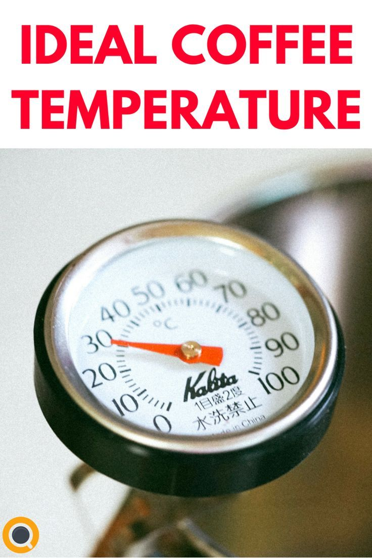 Are You Serving Coffee At The Ideal Temperature Coffee Brewing Methods Coffee Temperature Coffee Facts