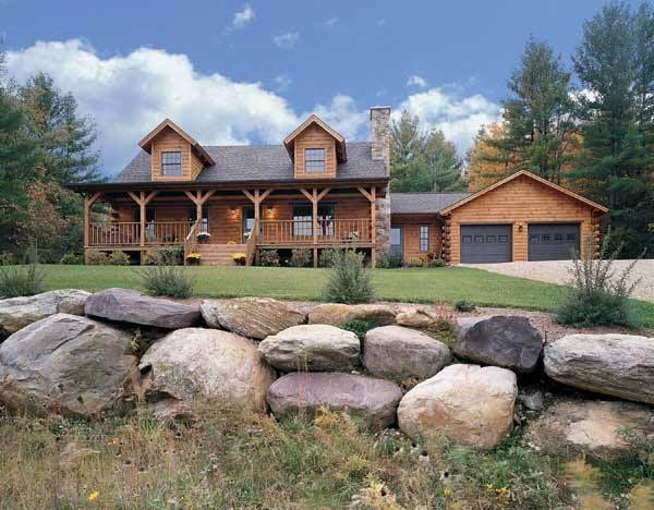 32 best Log Home Floor Plans images on Pinterest Log cabins Log