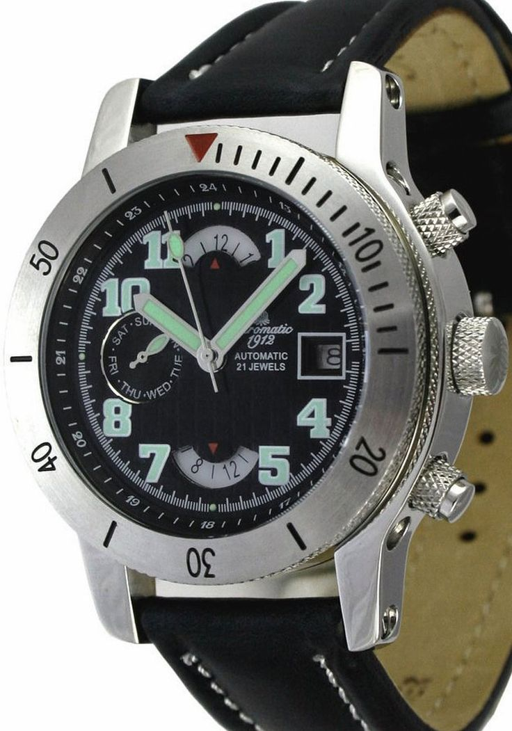 Aeromatic Day/Date Military Automatic