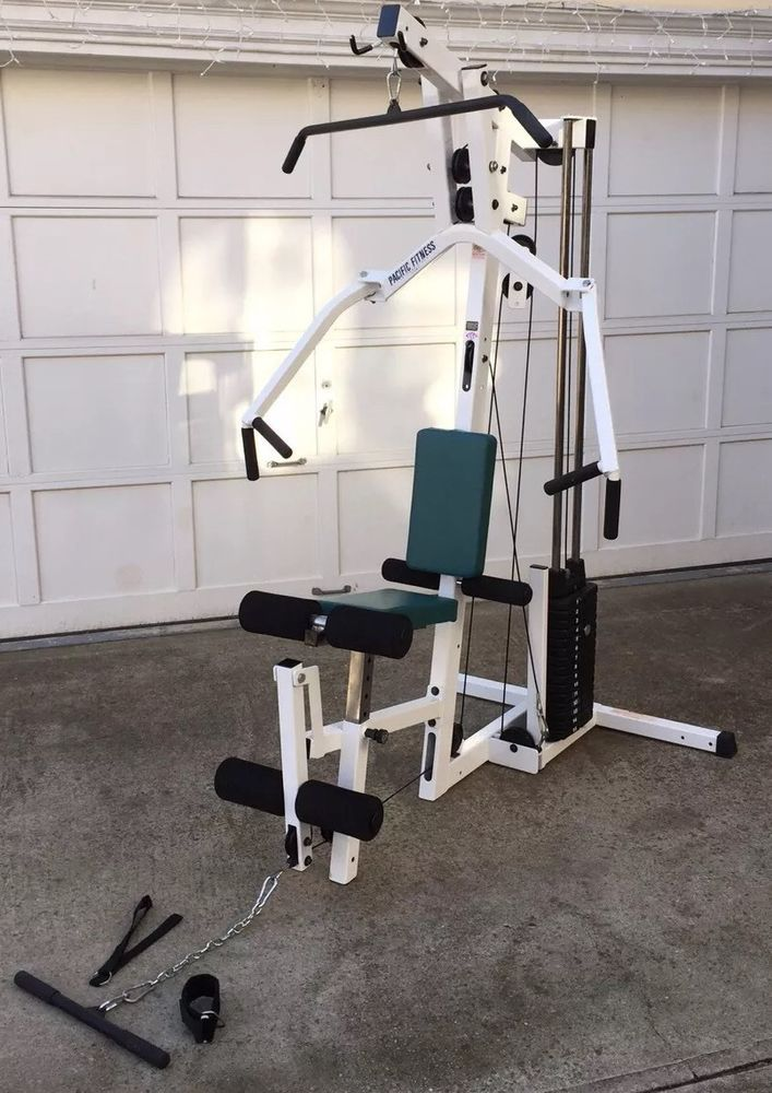 Pacific fitness zuma home gym muscle machine exercise
