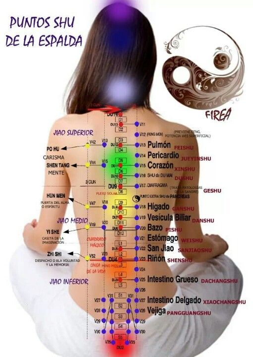 Puntos. Meridians of the body and charkra chart. #Shiatsu and relax one of the…