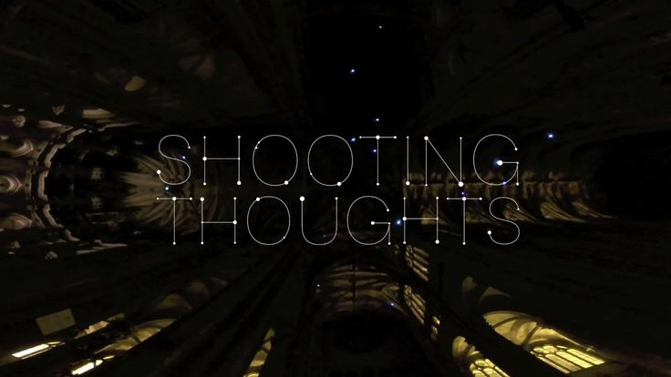 """Shooting Thoughts"" is an interactive projection where people generate a constellation of stars by sending their thoughts with a mobile device. Connected to lasers,…"