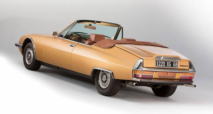 1975 Citroën SM Mylord Cabriolet par Chapron Artcurial auction Rétromobile 2014