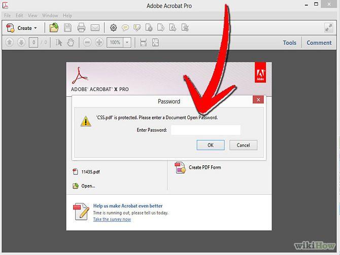Image intitulée Unsecure a Secure PDF File Step 1 la suite ici:http://www.internet-software2015.blogspot.com
