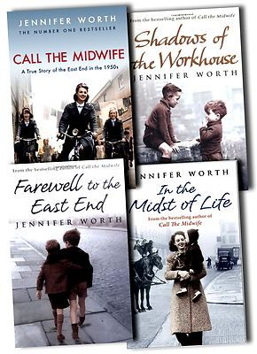 Jennifer Worth Collection 4 Books Set Shadows Of The Workhouse, Call The Midwife on eBay!