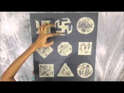 Swastika design for chaityavandan
