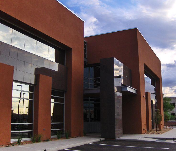 32 best office buildings images on pinterest for Modern bank building design