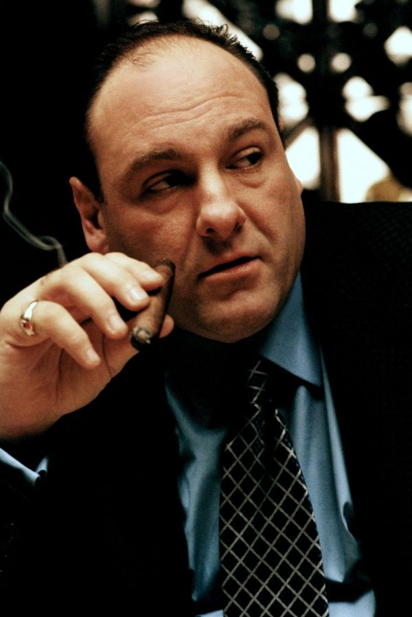 James Gandolfini in The Sopranos - heart attack in Italy while on vacation.  Only 51 yrs old - much too soon for such a fine actor.  R.I.P. Tony!!  - popculturez.com #Celebrity #Entertainmentnews #Celebnews