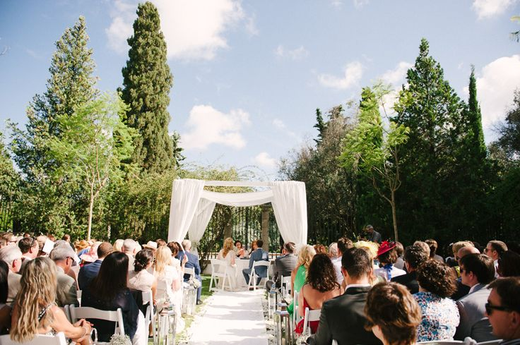 Wedding Ceremony at Os Agostos