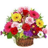 Basket of exquisite Flowers  to Bangalore, Karnataka Rs. 1655 / USD 27.58