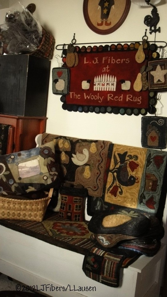 Welcome to The Wooly Red Rug