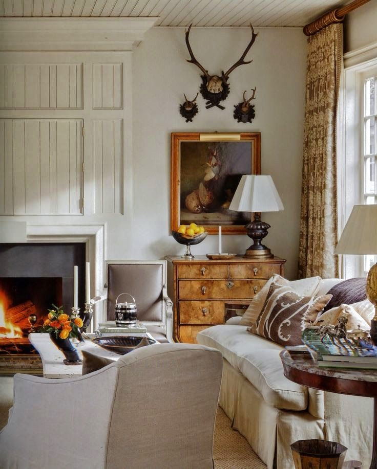 via The Welcoming House, The Art of Living Graciously (Rizzoli) by Jane Schwab and Cindy Smith of Circa Interiors