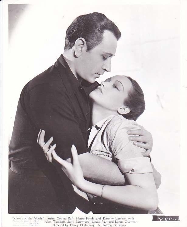 SPAWN OF THE NORTH, Original 1938 George Raft, Dorothy Lamour Movie Photo | eBay