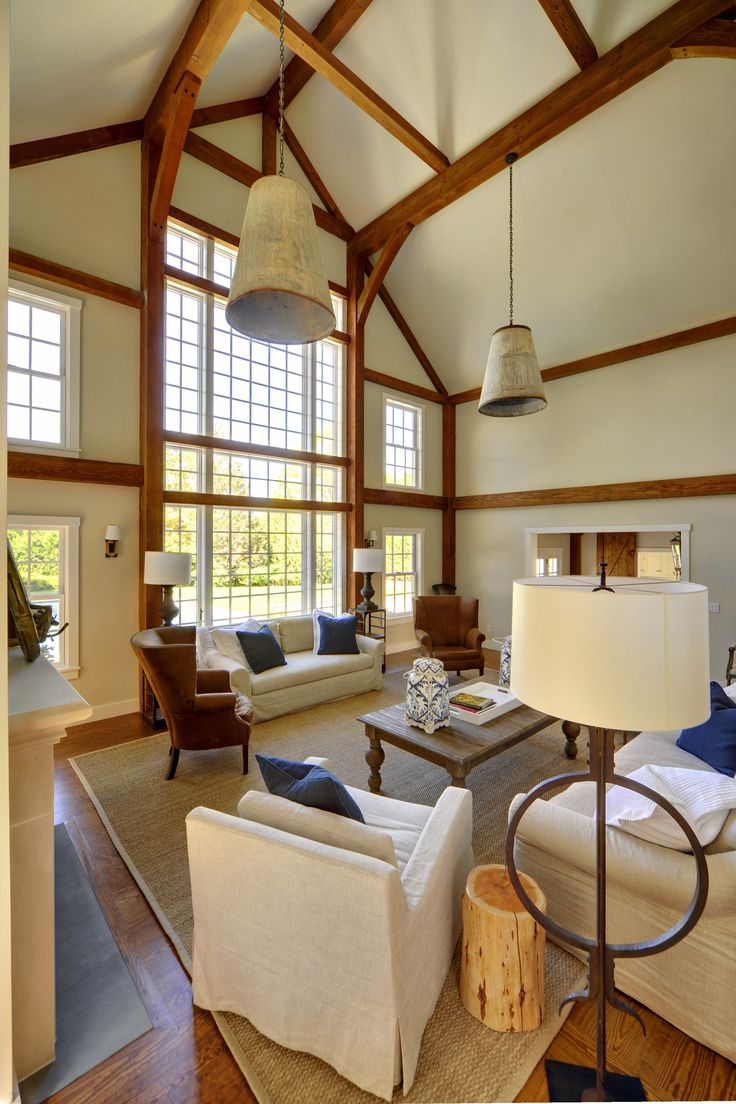 A Casually Elegant Seaside Post And Beam Barn Home. Click The Pic To See  More