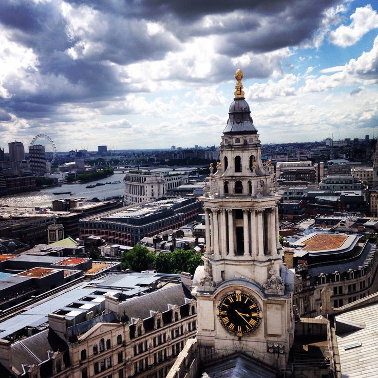 View from St Paul's Cathedral - London