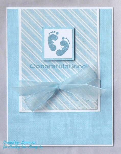 Baby Congrats by scrapaddict4 - Cards and Paper Crafts at Splitcoaststampers