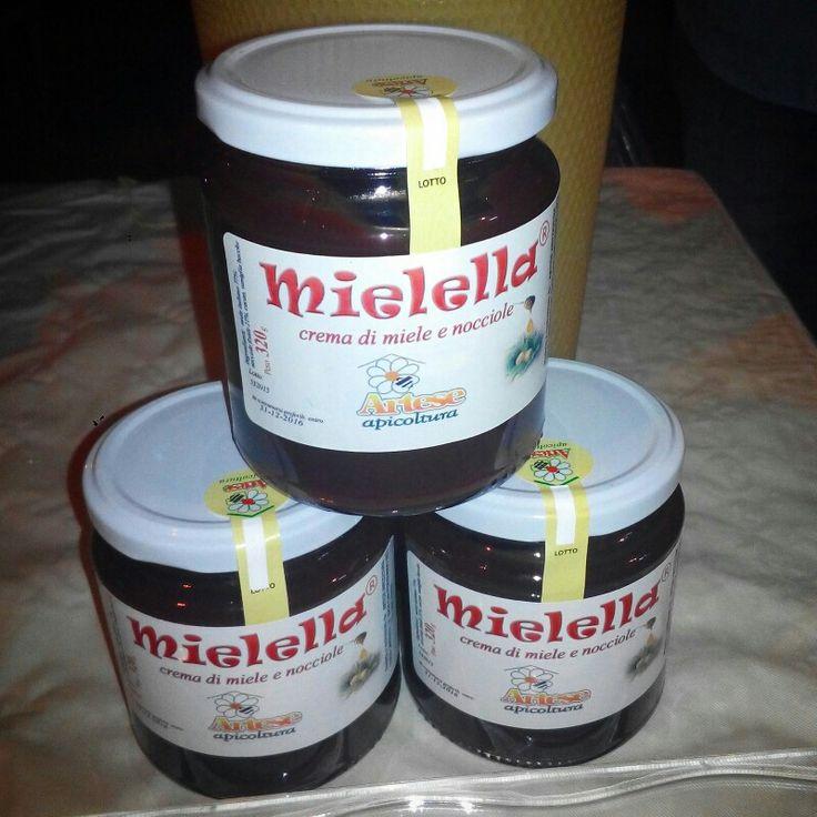 Mielella crema spalmabile di miele con nocciole e cacao