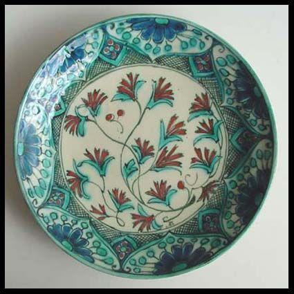 De Porceleyne Fles, Delft - sierbord met Iznik decoratie
