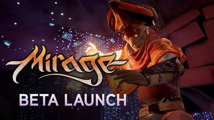 Mirage: Arcane Warfare - Beta Launch https://www.youtube.com/watch?v=fyuxSWXEuCQ #gamernews #gamer #gaming #games #Xbox #news #PS4