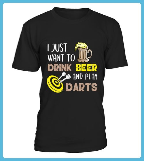 Beer Shirt Drink Beer And Play Darts (*Partner Link)
