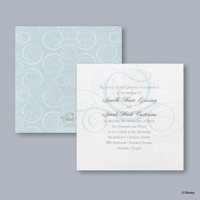 22 best Disney Fairy Tale Cinderella Wedding Invitations images on – Disney Fairytale Wedding Invitations