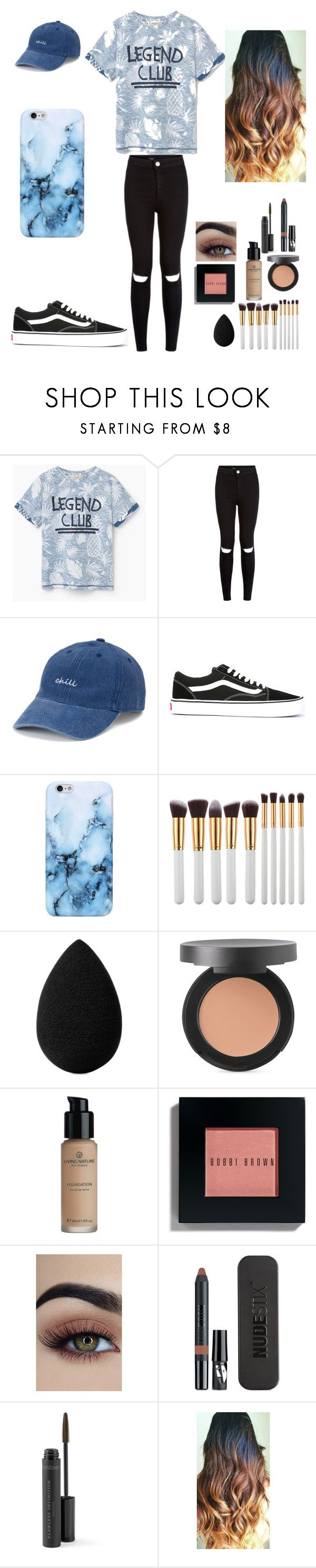 """You Will Remember Me"" by look-in-the-clouds ❤ liked on Polyvore featuring New Look, SO, Vans, My Makeup Brush Set, beautyblender, Bare Escentuals, Bobbi Brown Cosmetics and Nudestix"