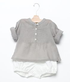 Look Bebé 36 - I'm into the grey thing....these outfits are so cute for a grandaughter!