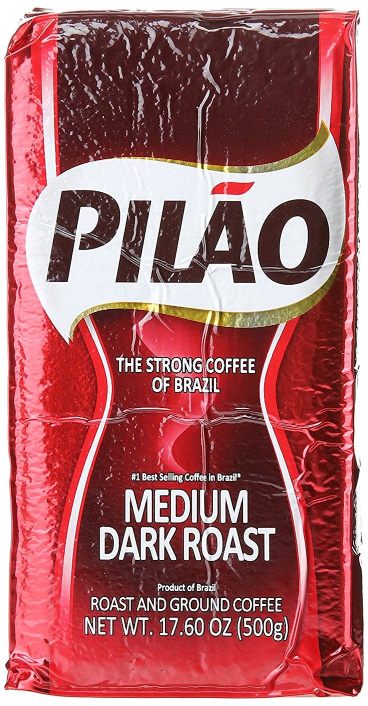 Café Pilão   The Full-Bodied Coffee From Brazil - Medium Dark Roast 17.60 OZ (500g) >>> Read more reviews of the product by visiting the link on the image.