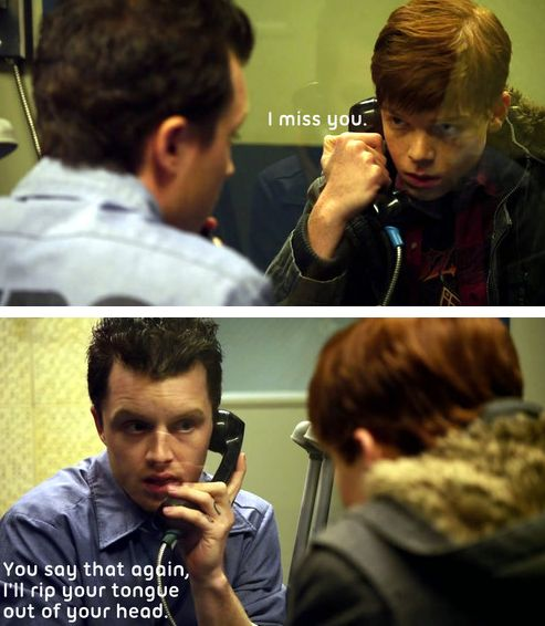Mickey Milkovich and Ian Gallagher - Shameless US Season 1 Episode 10.