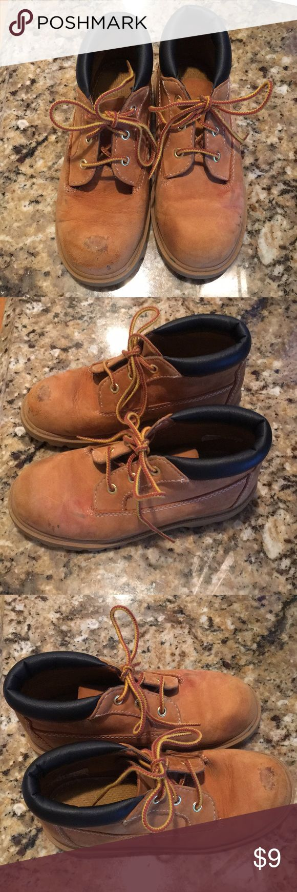 Boys Timberland boots Boys timberland boots chukka style - have definite wear which is why I have reduced price but are definitely still great for the cold weather Timberland Shoes Boots