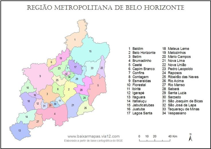 mapa-metropolitana-de-belo-horizonte
