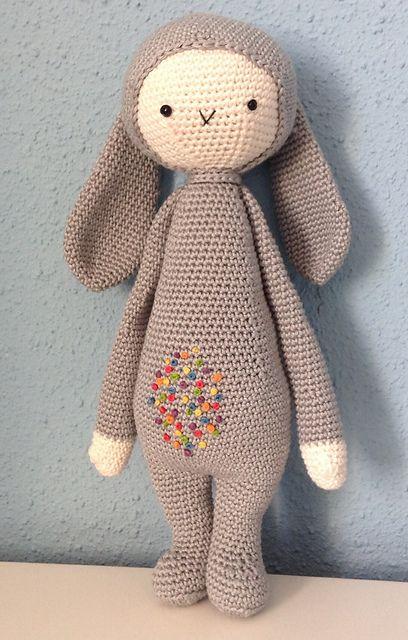 KIRA the kangaroo • lalylala crochet pattern / amigurumi ... | 640x408