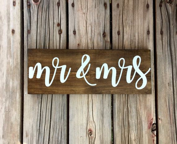 1000 Ideas About Mr Mrs Sign On Pinterest Weddings