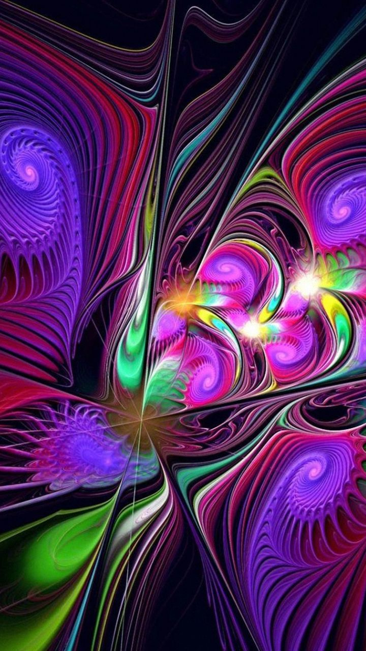 HD 720x1280 colorful abstract lg phone wallpapers | Purple has alway been My Favorite Color ...