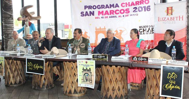 Presentaron atractivo programa charro para la Feria Nacional de San Marcos 2016.