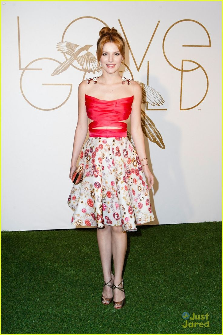 It up bella thorne sports a grown up look in elegant peplum dress - Bella Thorne Lovegold Honors Lupita Nyong O Event