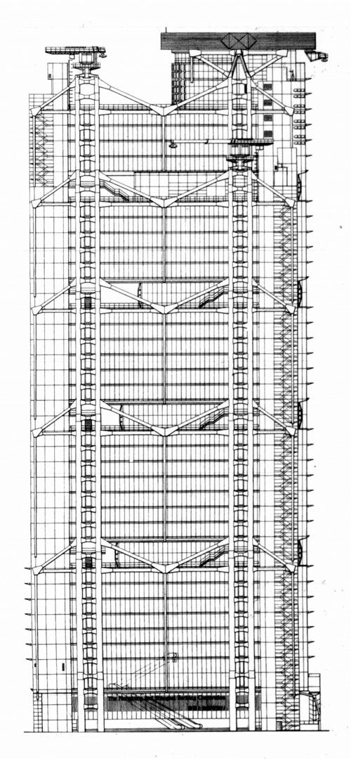 north elevation of hsbc by norman foster