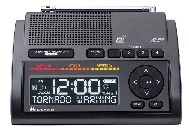 Midland MID-WR400 Deluxe NOAA Weather Radio, S.A.M.E. Digital 85 dB siren AM/FM  #Midland