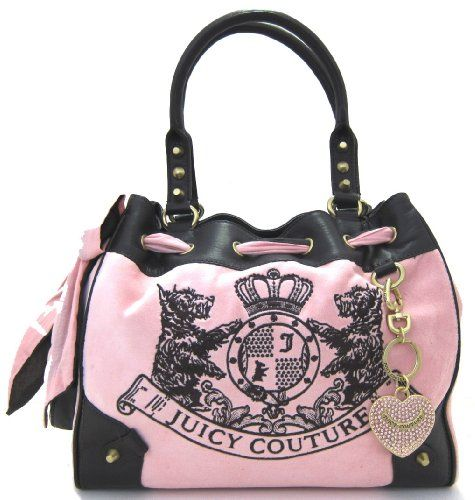 Juicy Couture Scottie Embroidery Daydreamer Shoulder Bag 103