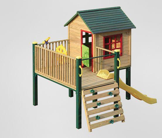 Die 25+ Besten Ideen Zu Gartenrutsche Auf Pinterest ... Spielhaus Im Garten Verspricht Abenteuer Pur Im Eigenen Hinterhof