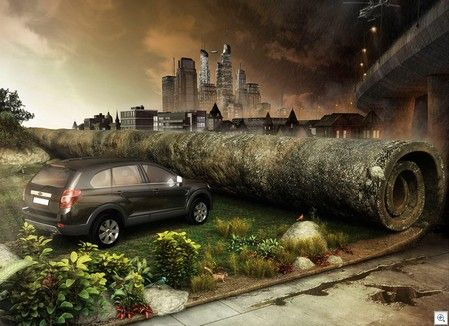 Chevrolet captiva car ads