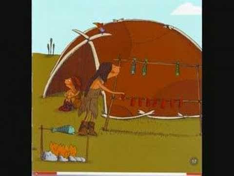 Digitaal prentenboek over de prehistorie. Niet in het Nederlands, maar wel heel leerzaam om met kleuters de platen te bekijken!