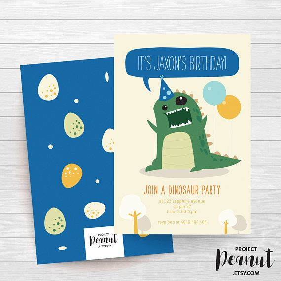Dinosaur Theme - Dinosaur Birthday - Dinosaur Theme Party - Little Monster Party - Dinosaur - Boy Birthday - 1st Birthday - Party Invitation ROAR! The perfect way to let everyone know your little Dinosaur is having a birthday party!  PLEASE NOTE:  + You are purchasing a digital file only.  + NO PRINTED MATERIALS ARE INCLUDED!  + There are NO REFUNDS as this is a digital product.  + A reminder that this is a DIGITAL PRODUCT.  WHAT DO YOU GET? 4x6 inch digital printable invitation - with…