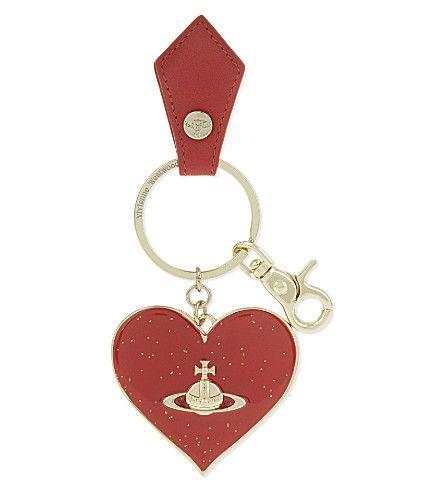 VIVIENNE WESTWOOD - Gadget heart keyring   Selfridges.com