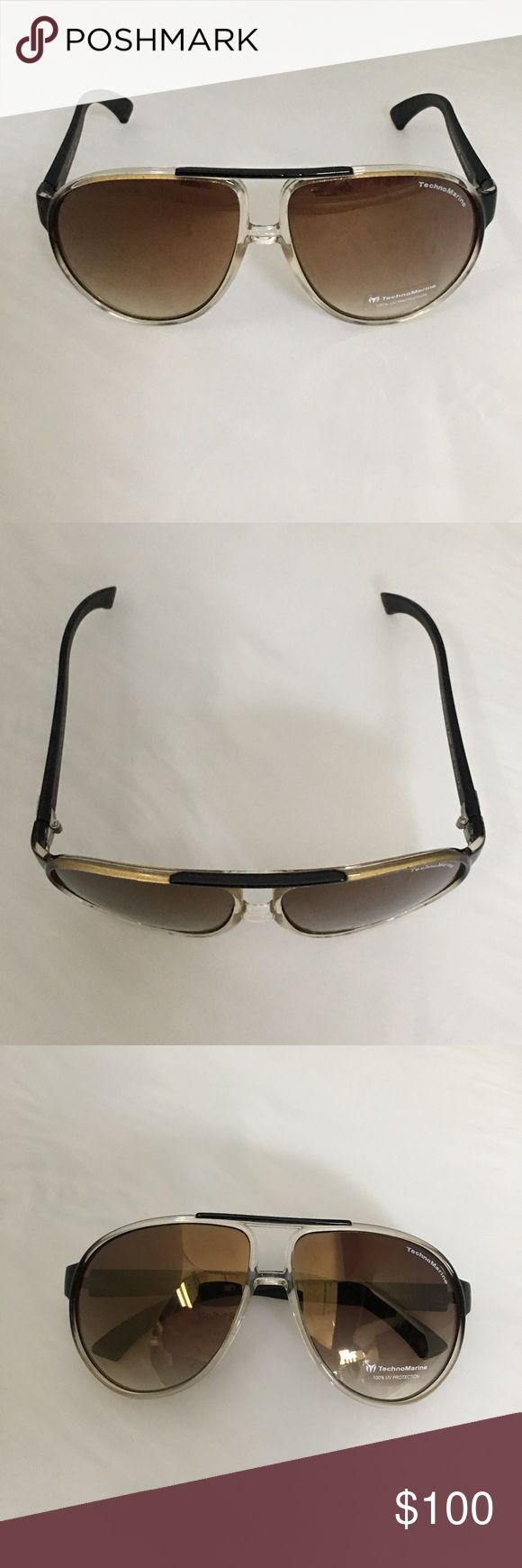 Unisex TechnoMarine Sunglasses Brand New with original packaging, Sku: Cruise Sport Col. 9 Technomarine Accessories Sunglasses