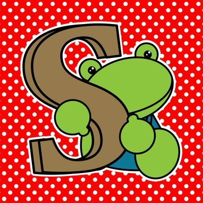 chocolade letter S