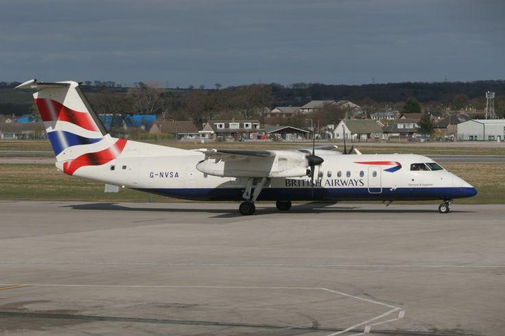 British airways Citiexpress Dash 8-300
