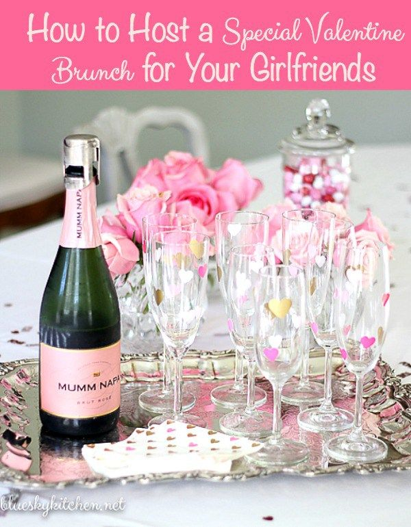 How to Host a Special Valentine Brunch for Your Girlfriends